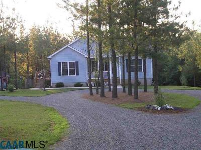 Buckingham County Single Family Home For Sale: 187 Beaver Pl