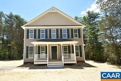 Louisa Single Family Home For Sale: 9664 Shannon Hill Rd