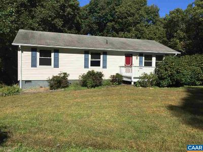 Ruckersville Single Family Home For Sale: 107 Shotwell Rd