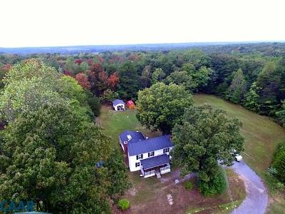 Buckingham County Single Family Home For Sale: 23223 N James Madison Hwy