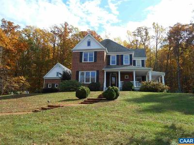Charlottesville Single Family Home For Sale: 3199 Cold Spring Rd