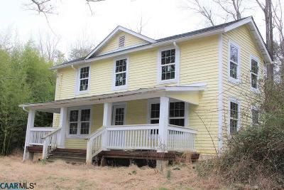 Albemarle County Single Family Home For Sale: 3079 Boatwright Ln