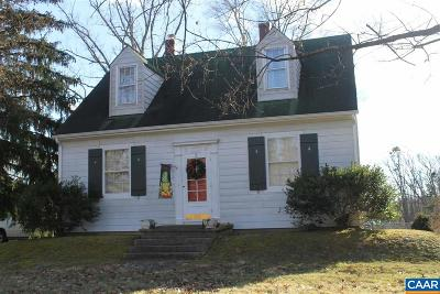 Louisa County Single Family Home For Sale: 20706 Louisa Rd