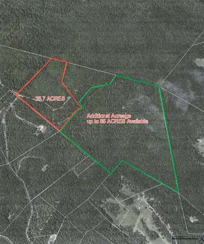 Lots & Land For Sale: 25 Acres Valley Overlook Dr