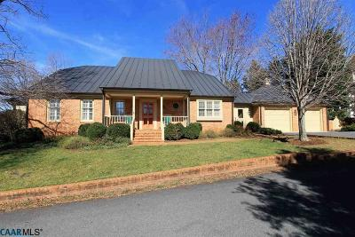 Albemarle County Single Family Home Sold: 1121 Dryden Ln