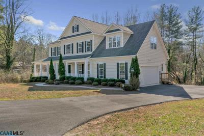 Earlysville Single Family Home For Sale: 577 Manor Rd