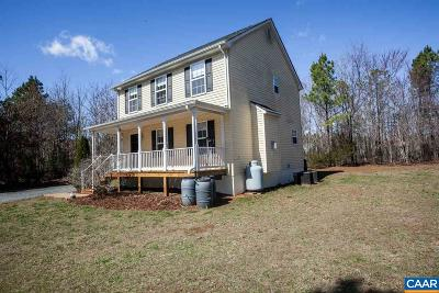 Scottsville Single Family Home For Sale: 1590 James River Rd