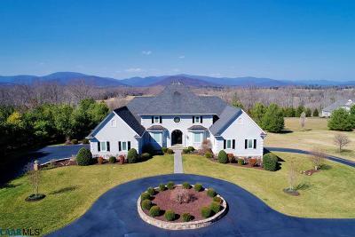 Earlysville Single Family Home For Sale: 778 Misty Ridges Ln