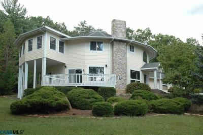 Nelson County Single Family Home For Sale: 629 Lakeland Ln