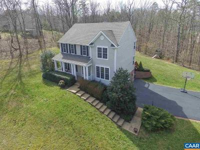 Fluvanna County Single Family Home For Sale: 285 Westview Ln