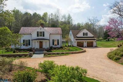 Charlottesville Single Family Home For Sale: 684 Ivy Depot Rd