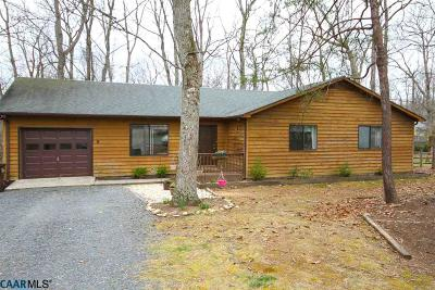 Fluvanna County Single Family Home For Sale: 9 Xebec Rd