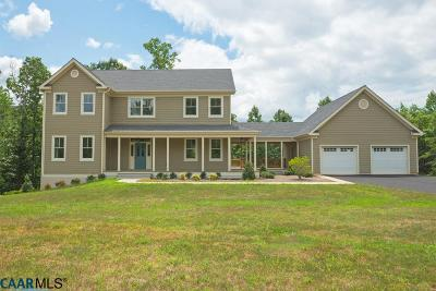 Single Family Home For Sale: 5325 Millhouse Dr