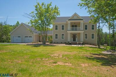 Albemarle County Single Family Home For Sale: 5331 Millhouse Dr