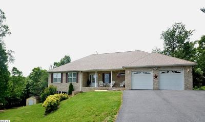 Augusta County Single Family Home For Sale: 252 Equestrian Dr