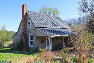 Albemarle County Single Family Home For Sale: 7814 Chestnut Grove Rd