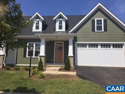 Charlottesville Townhome For Sale: 545 Trailside Dr