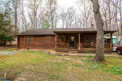 Lake Monticello Single Family Home For Sale: 16 Long Leaf Ln