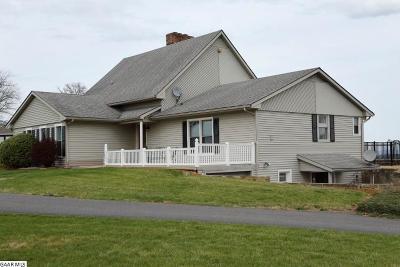 Staunton Single Family Home For Sale: 60 Clemmer Knoll Ln