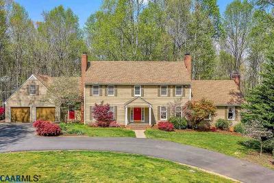 Earlysville Single Family Home For Sale: 755 Lochridge Ln
