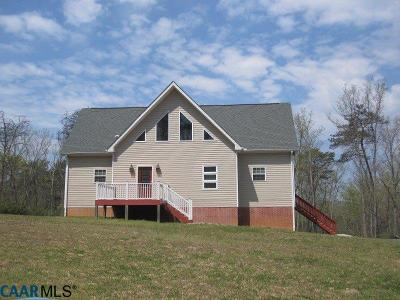 Buckingham County Single Family Home For Sale: 504 Woodland Church Rd