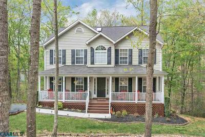 Fluvanna County Single Family Home For Sale: 312 Jefferson Dr