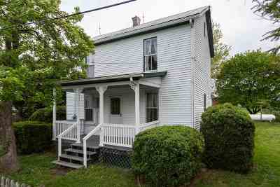 Linville Single Family Home Sold: 9892 Wills Creek Rd