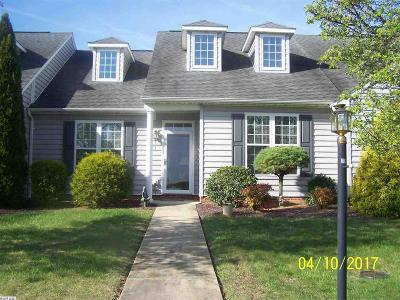 Staunton Townhome For Sale: 19 Whispering Oaks Dr