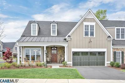 Albemarle County Townhome For Sale: 934 Addle Hill Rd