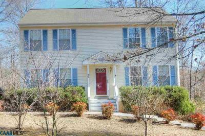 Fluvanna County Single Family Home For Sale: 49 Lafayette Dr