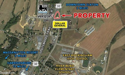 Rockingham County Lots & Land For Sale: Spotswood Trl