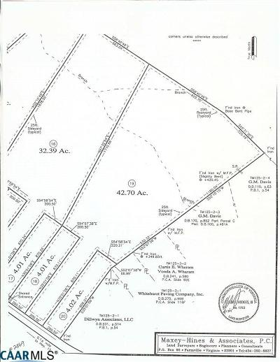 Buckingham County Lots & Land For Sale: Rte 20 S Constitution Hwy