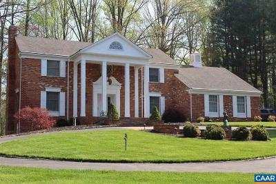 Farmington (Albemarle) Single Family Home For Sale: 1505 Brook Hill Ln