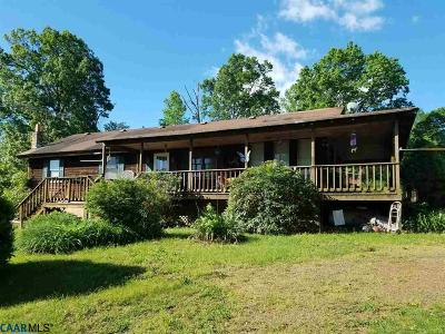Madison County Single Family Home For Sale: 261 Mitchell Mountain Rd