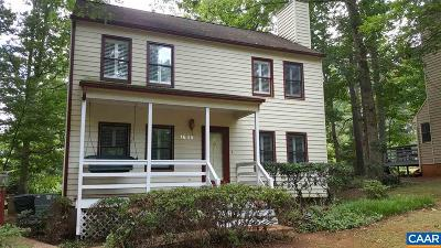 Charlottesville Single Family Home For Sale: 1635 Inglewood Dr