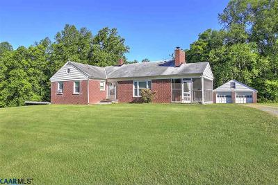 Louisa Single Family Home For Sale: 8237 Shannon Hill Rd