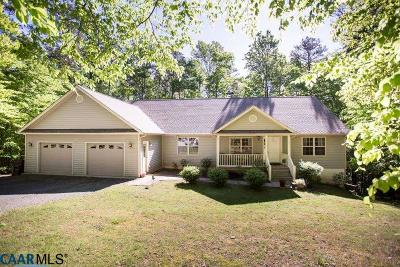 Lake Monticello Single Family Home For Sale: 7 Ripping Ct