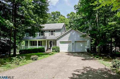 Lake Monticello Single Family Home For Sale: 17 Long Leaf Ln