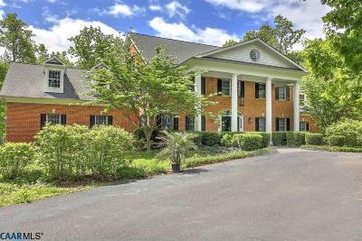 Charlottesville Single Family Home For Sale: 2476 Poplar Dr