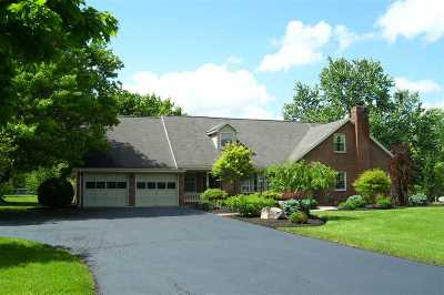 Augusta County Single Family Home For Sale: 876 Keezletown Rd