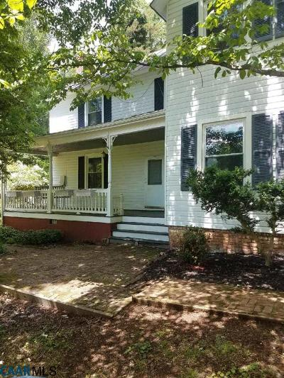 Albemarle County Single Family Home For Sale: 2601 Red Hill Hts