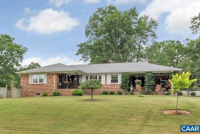 Charlottesville Single Family Home For Sale: 1901 Rolling Hill Rd
