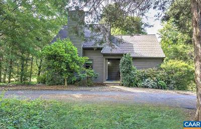 Charlottesville Single Family Home For Sale: 107 Mill Creek Dr