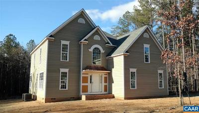 Fluvanna County Single Family Home For Sale: Pine Shadow Ct #Lot 33