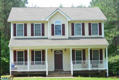 Fluvanna County Single Family Home For Sale: F Kents Store Way