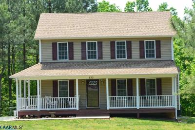 Fluvanna County Single Family Home For Sale: E Kents Store Way