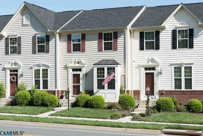 Pavilions At Pantops Townhome For Sale: 1852 Verona Dr
