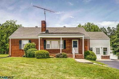 Scottsville Single Family Home For Sale: 562 James River Rd
