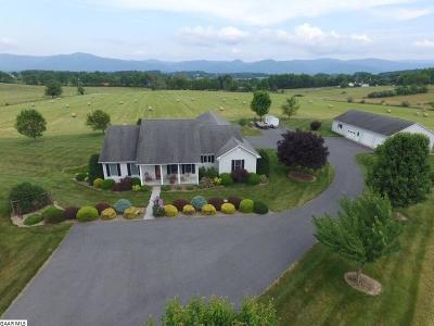 Augusta County Single Family Home For Sale: 1254 Almo Chapel Rd