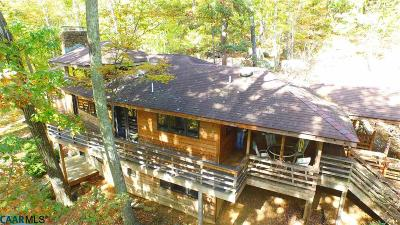 Albemarle County Single Family Home For Sale: 7324 Jarmans Gap Rd